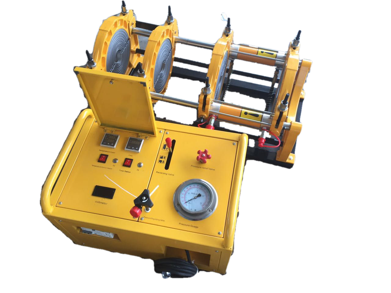 HDPE hydraulic pipe jointing machine complete set